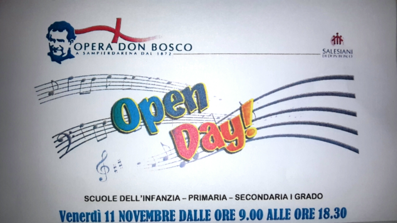 open-day-scuola-don-bosco-sampierdarena